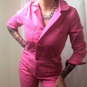 Athina Pink Utility Jumpsuit